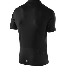 Löffler Rocky Bike Shirt Full-Zip Herren schwarz/zitrone
